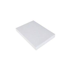 Dekorasjonskartong A4 220g hvit