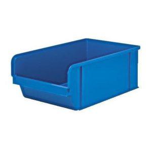 Plastkasse 3 liter blå