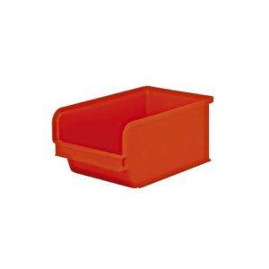 Plastkasse 3 liter rød