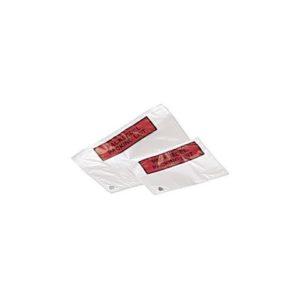 Pakkseddelpose C5 plast m/trykk(1000)