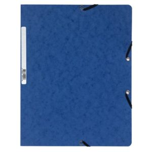 Strikkmappe EXACOMPTA A4 u/kl 400g blå