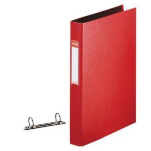 Ringperm ESSELTE A4 25mm 2R rød