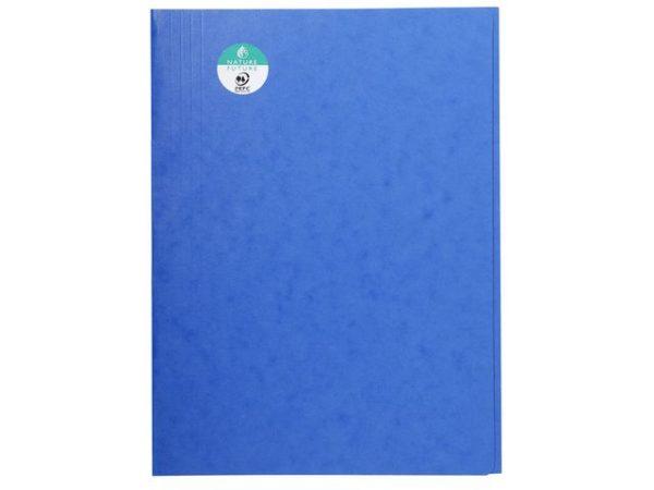 Klaffmappe EXACOMPTA A4 u/strikk blå