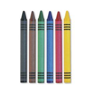 Vokskritt pappeske 6 farger