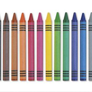 Vokskritt 12 farger