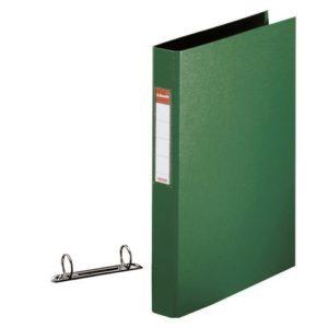Ringperm ESSELTE A4 25mm 2R grønn