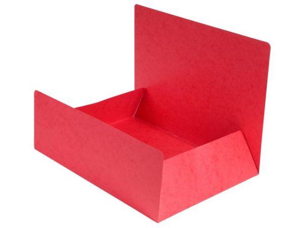 Klaffmappe EXACOMPTA A4 u/strikk rød