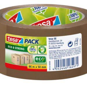 Emballasjetape TESA Eco 50mmx66m brun