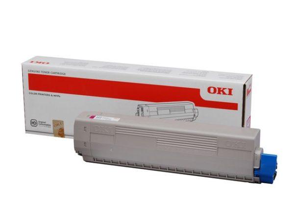 Toner OKI 44844506 10K rød
