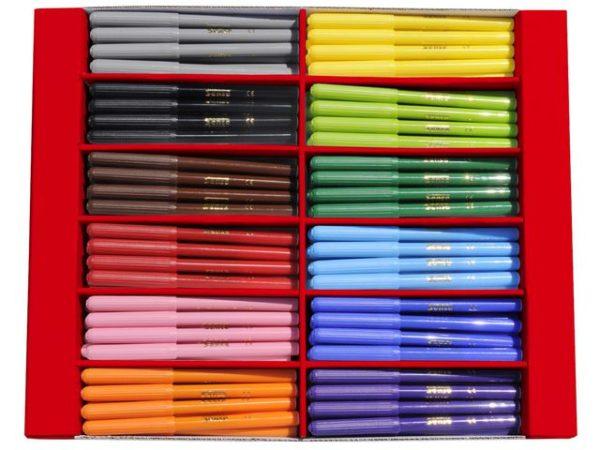Fiberpenn SENSE 12 farger (192)