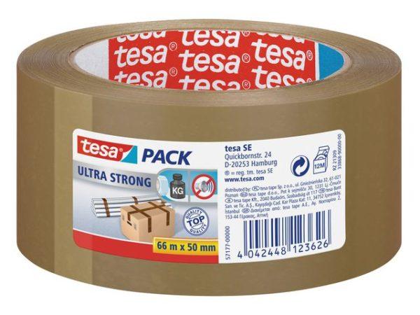 Emballasjetape TESA Ultra 50mmx66m brun