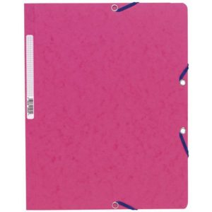 Strikkmappe EXACOMPTA A4 u/kl 400g rosa