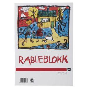 Rableblokk EMO A3 100g 50 blad