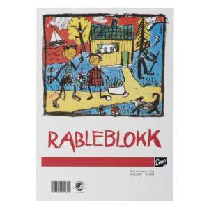Rableblokk EMO A4 100g 50 blad