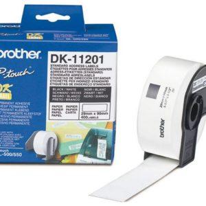 Etikett BROTHER DK-11201 ad 29x90mm(400