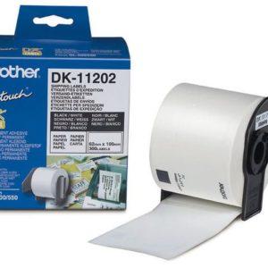 Etikett BROTHER DK-11202 go 62x100 (300