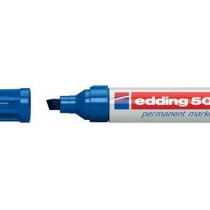Merkepenn EDDING 500 blå