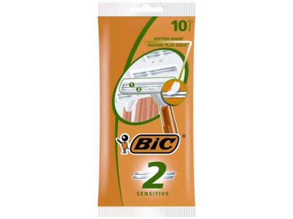 Barberhøvel BIC Sensitive 2-blad (10)