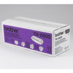 Toner BROTHER TN6600 6K sort