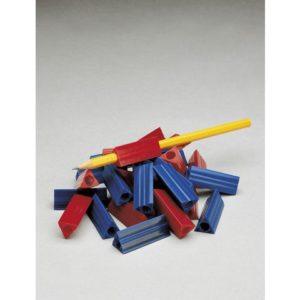 Blyantholder FABER-CASTELL rød/blå (32)