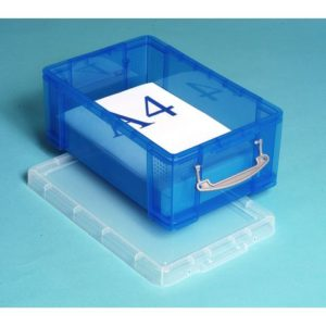 Oppbevaringsboks RUP 9 L blå
