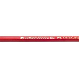 Fargeblyant FABER-CASTELL Jumbo  rød(12