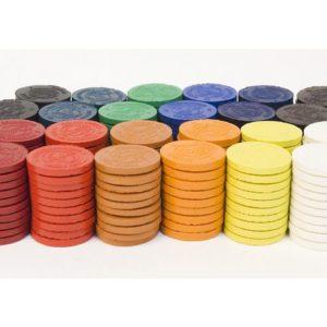 Akvarellfarger ass farger (240)