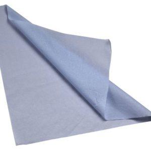 Tannlegeserviett 37x38cm blå (1000)