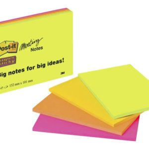 POST-IT SuperS 101x152mm 4645 ass (4)