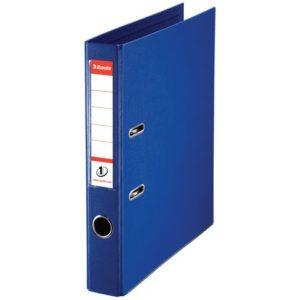 Smalordner ESSELTE No1 A4 50mm sk. blå