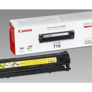Toner CANON 716Y  LBP5050 gul