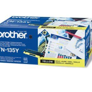 Toner BROTHER TN135Y 4K gul