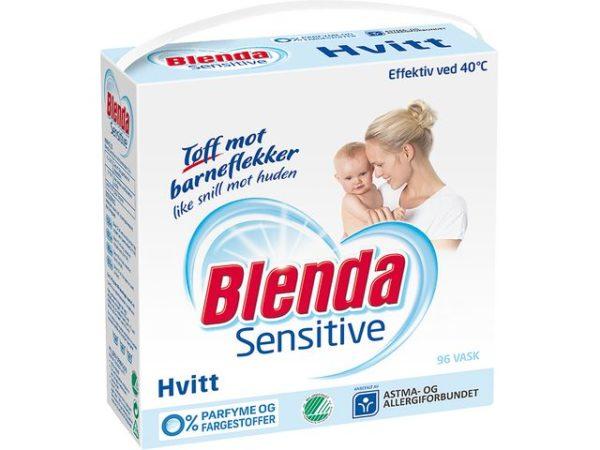 Tøyvask BLENDA Sensitive Hvitt