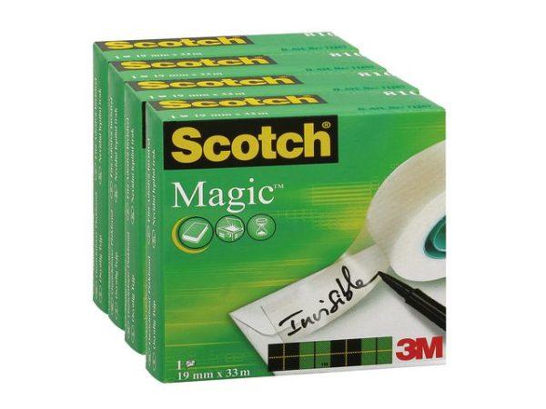 Tape SCOTCH Magic 810 19mmx33m (4)