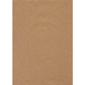 Gavepapir 57cm 10m ubleket kraft 60g