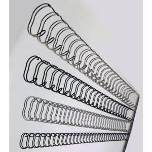 Metallspiral LEITZ  12mm 3:1 sølv (100)