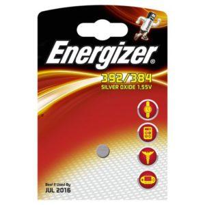 Batteri ENERGIZER sølvoksid 392/384