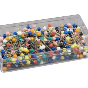 Knappenåler 34mm plasthode (300)