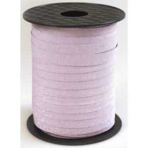 Gavebånd 10mmx100m glitter rosa