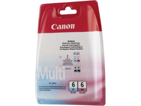 Blekk CANON BCI-6 PC/PM Multipack (2)