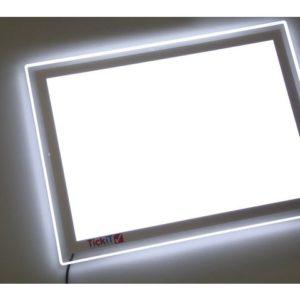 Lysbord SCIENCE LED-lampe 48x35x1cm