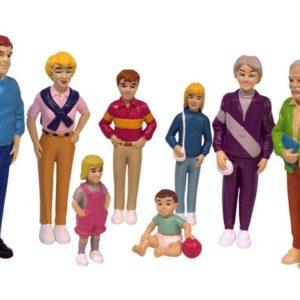 Lekefigurer familie lys (8)