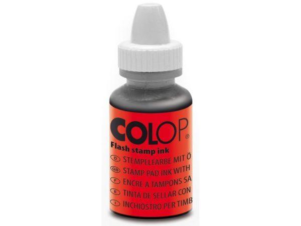 Stempelfarge COLOP til EOS 10ml rød (2)