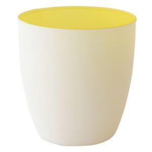 Lysholder DUNI glass poppie myk gul (6)