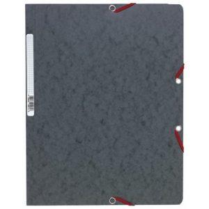 Strikkmappe EXACOMPTA A4 u/kl 400g grå