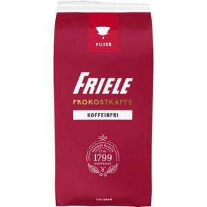 Kaffe FRIELE koffeinfri filtermalt 250g