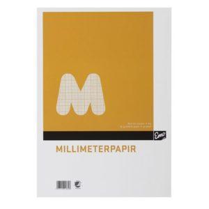 Millimeterpapir EMO A4 80g 50bl