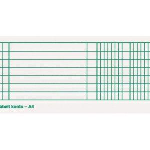 Protokoll EMO A4 80g 96bl dobbel konto
