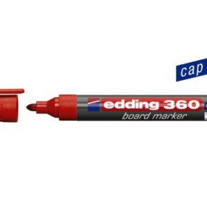 Whiteboardpenn EDDING 360 rød