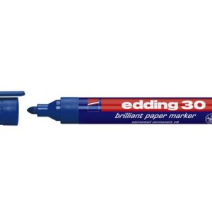 Merkepenn EDDING 30 blå